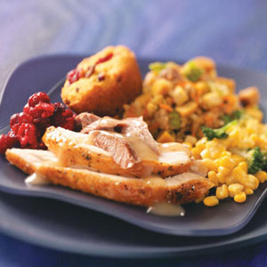 Turkey with Sausage Stuffing Recipe