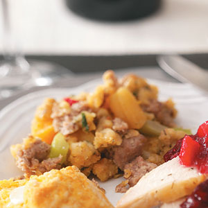 Moist Turkey Sausage Stuffing Recipe