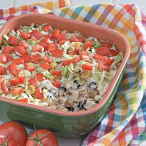Colorful Chicken and Rice Recipe