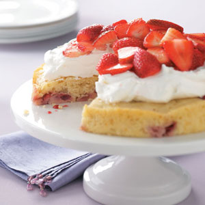 Lemon-Berry Shortcake Recipe