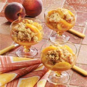 Cinnamon Peach Crisp Recipe