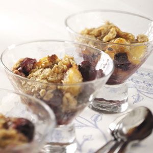Summer Fruit Crisp Recipe