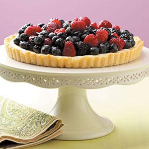 Fresh Fruit Tart Recipe