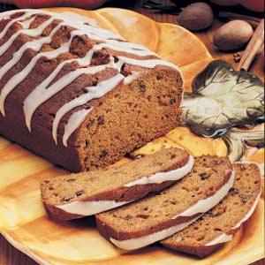 Pumpkin Pecan Loaves Recipe