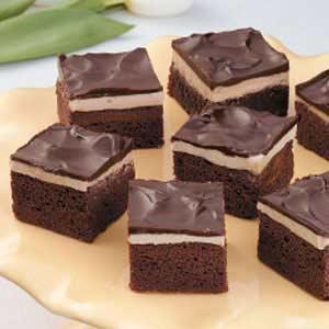 Coffee 'n' Cream Brownies Recipe