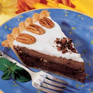 Fudgy Pecan Pie Recipe