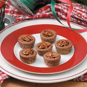 Caramel Chocolate Cheesecake Bites Recipe