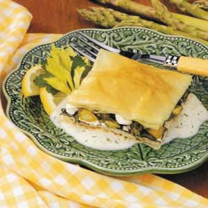 Asparagus Spanakopita Recipe