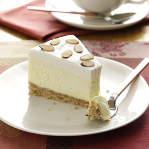 Luscious Almond Cheesecake Recipe