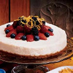 Simple Lemon Cheesecake Recipe