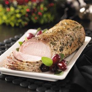 Herb-Rubbed Pork Loin Recipe