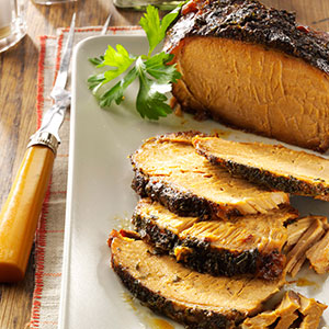Garlic-Apple Pork Roast Recipe