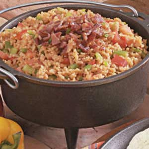 Spanish Rice with Bacon Recipe