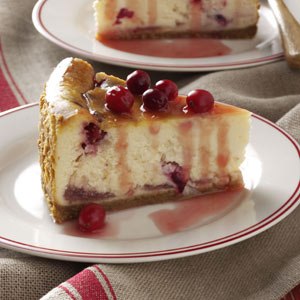 Winning Cranberry Cheesecake Recipe