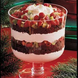 Chocolate and Fruit Trifle Recipe