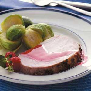 Zippy Raspberry Roast Pork Recipe