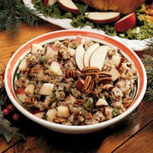 Sausage-Pecan Turkey Stuffing Recipe
