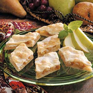 Sugared Raisin Pear Diamonds Recipe