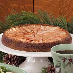Gingersnap Pear Tart Recipe