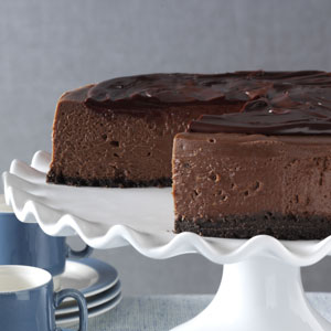 3D Chocolate Cheesecake Recipe