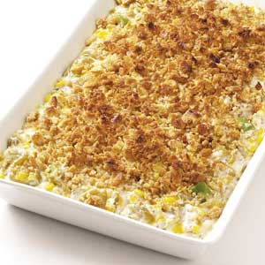 Makeover Corn 'n' Green Bean Bake Recipe