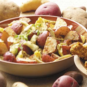 Roasted Potatoes and Artichokes Recipe
