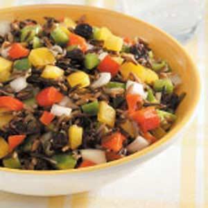 Wild Rice Pepper Salad Recipe