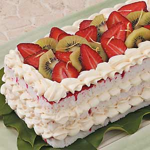 Strawberry Cheesecake Torte Recipe