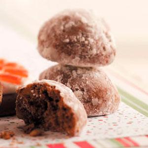Mocha Nut Balls Recipe