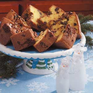 Pecan Chip Tube Cake Recipe