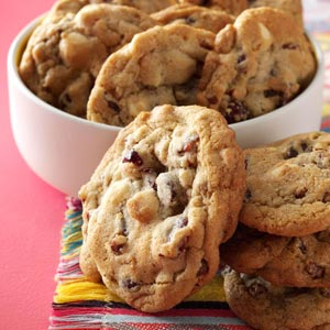 Quick Cranberry Chip Cookies Recipe