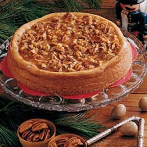 Honey Pecan Cheesecake Recipe