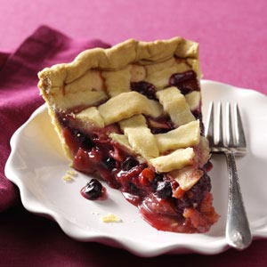 Berry-Apple-Rhubarb Pie Recipe