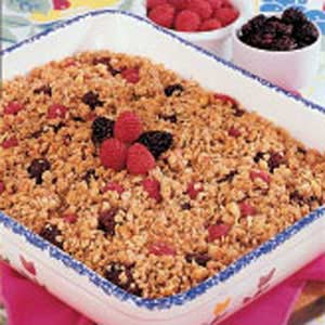 Berry Apple Crumble Recipe