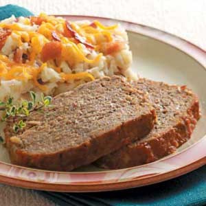 Chili Sauce Meat Loaf Recipe