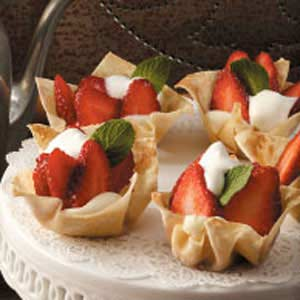 Strawberry Tartlets Recipe