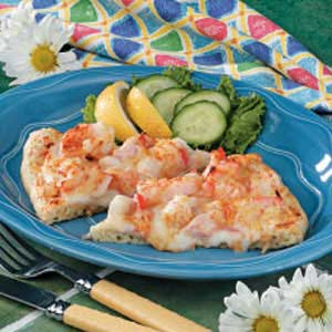 Seafood Pizza Recipe