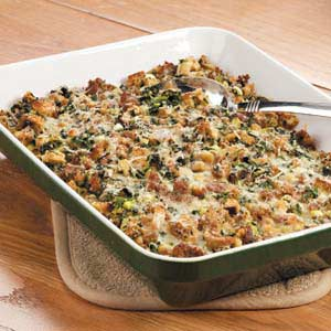 Sausage Spinach Bake Recipe