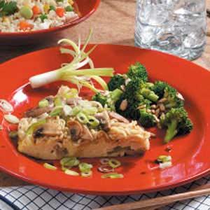 Asian Oven Omelet Recipe