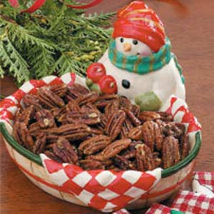Southern Spiced Pecans Recipe