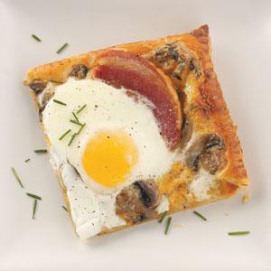 Sunny-Side-Up Herbed Tart Recipe