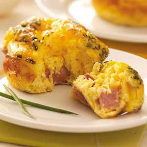 Mini Ham 'n' Cheese Frittatas Recipe