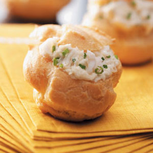 Holiday Appetizer Puffs Recipe