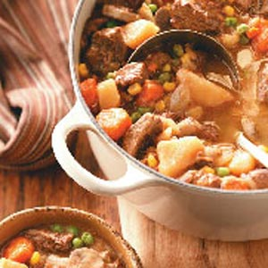 Tangy Beef and Vegetable Stew Recipe