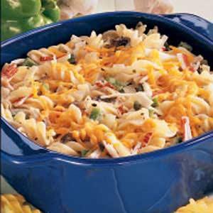 Pasta Crab Casserole Recipe