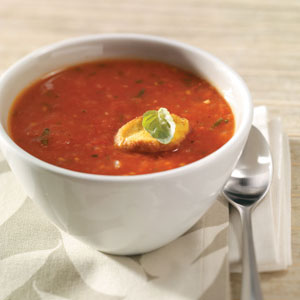 Roasted Tomato Soup with Fresh Basil for 2 Recipe