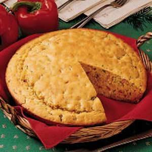 Skillet Herb Bread Recipe