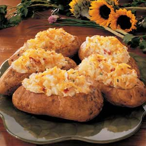 Makeover Twice-Baked Potatoes Recipe