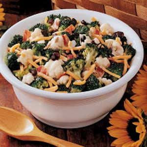 Sunny Vegetable Salad Recipe