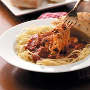 Hearty Spaghetti Sauce Recipe